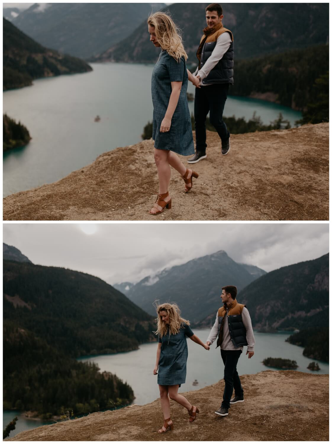 oregon engagement session