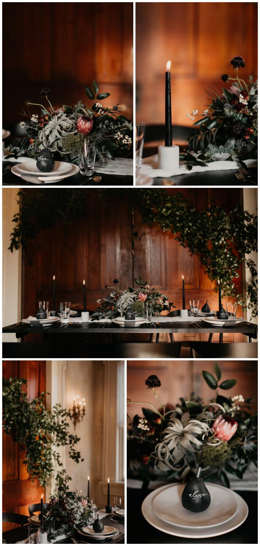 Riverwood Mansion Wedding Photographer Moody Modern Wedding Inspiration Cody Allison