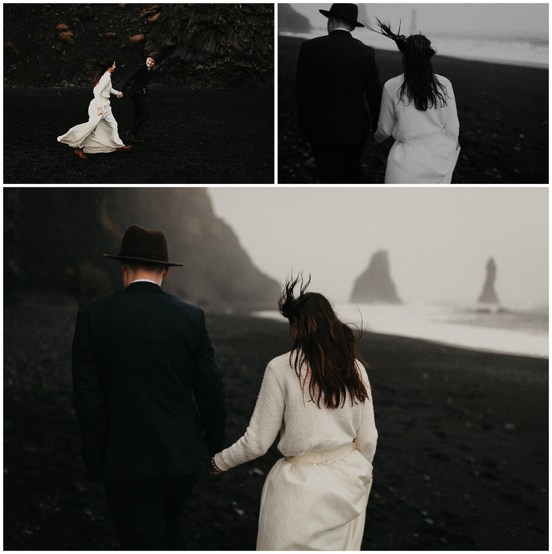 Reynisdrangar elopement