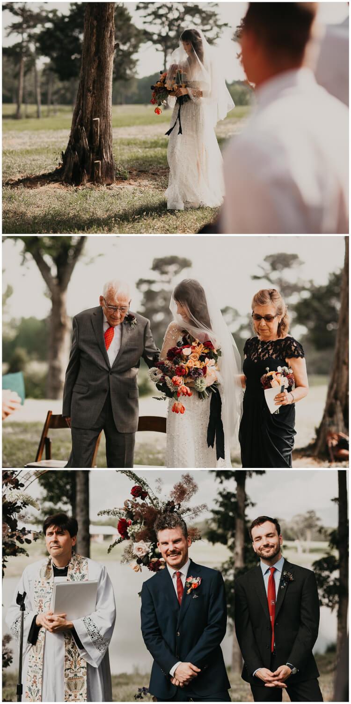 intimate bohemian wedding