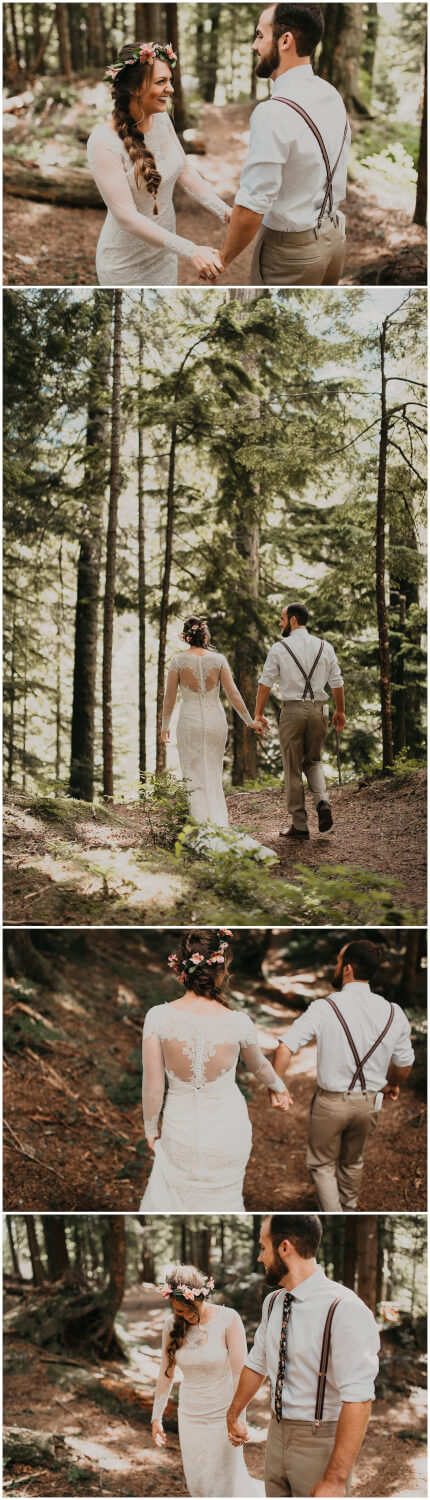 rattlesnake lake wedding