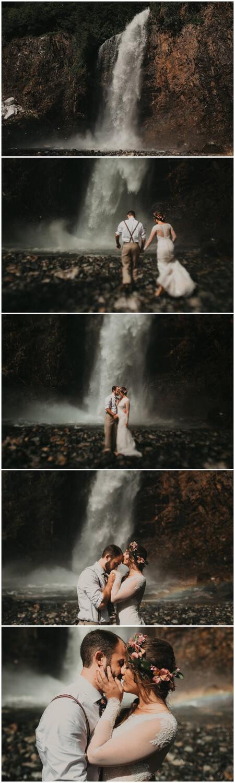 franklin falls wedding