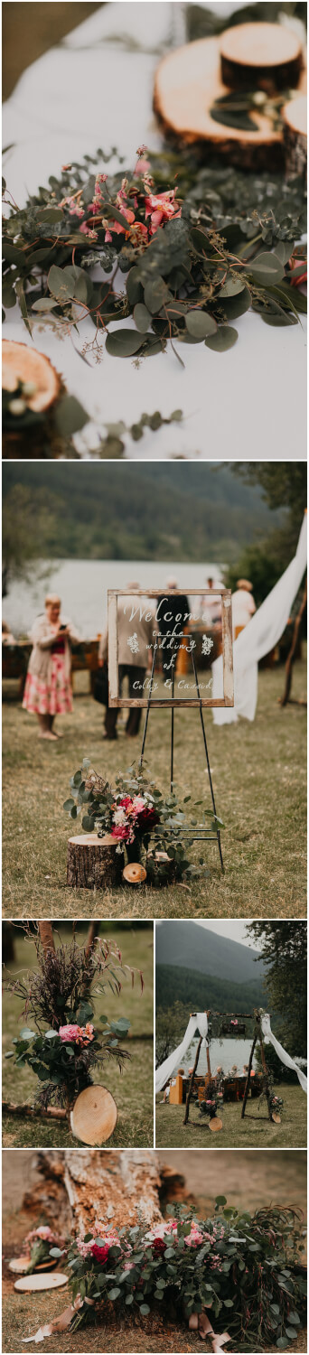 rattle snake lake elopement wedding