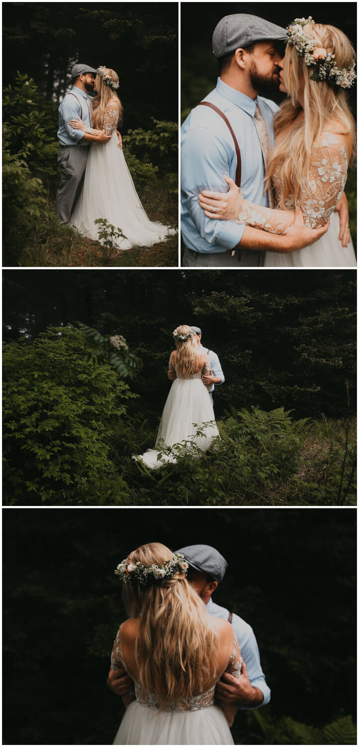 foggy elopement