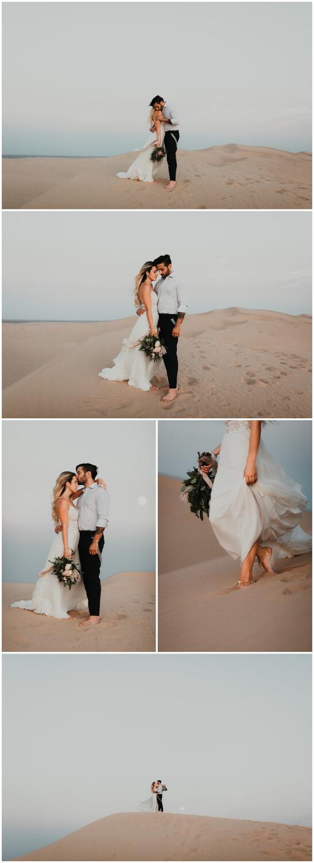 sand dune elopement photographer