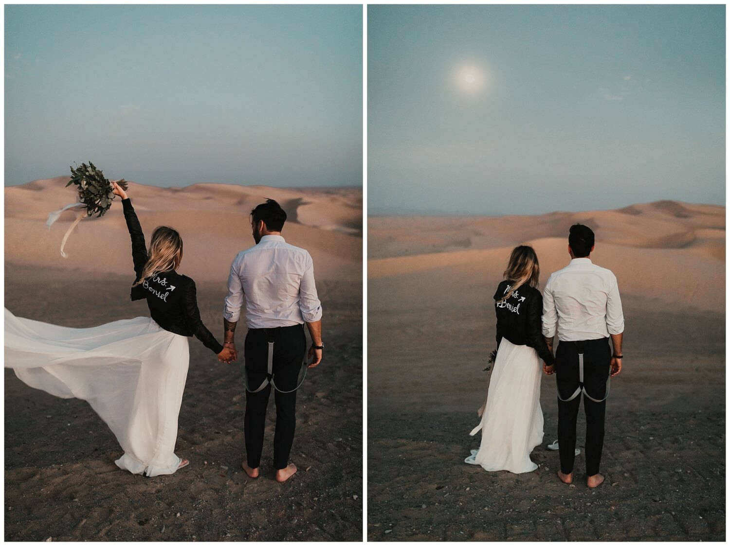 Imperial Sand Dunes Elopement