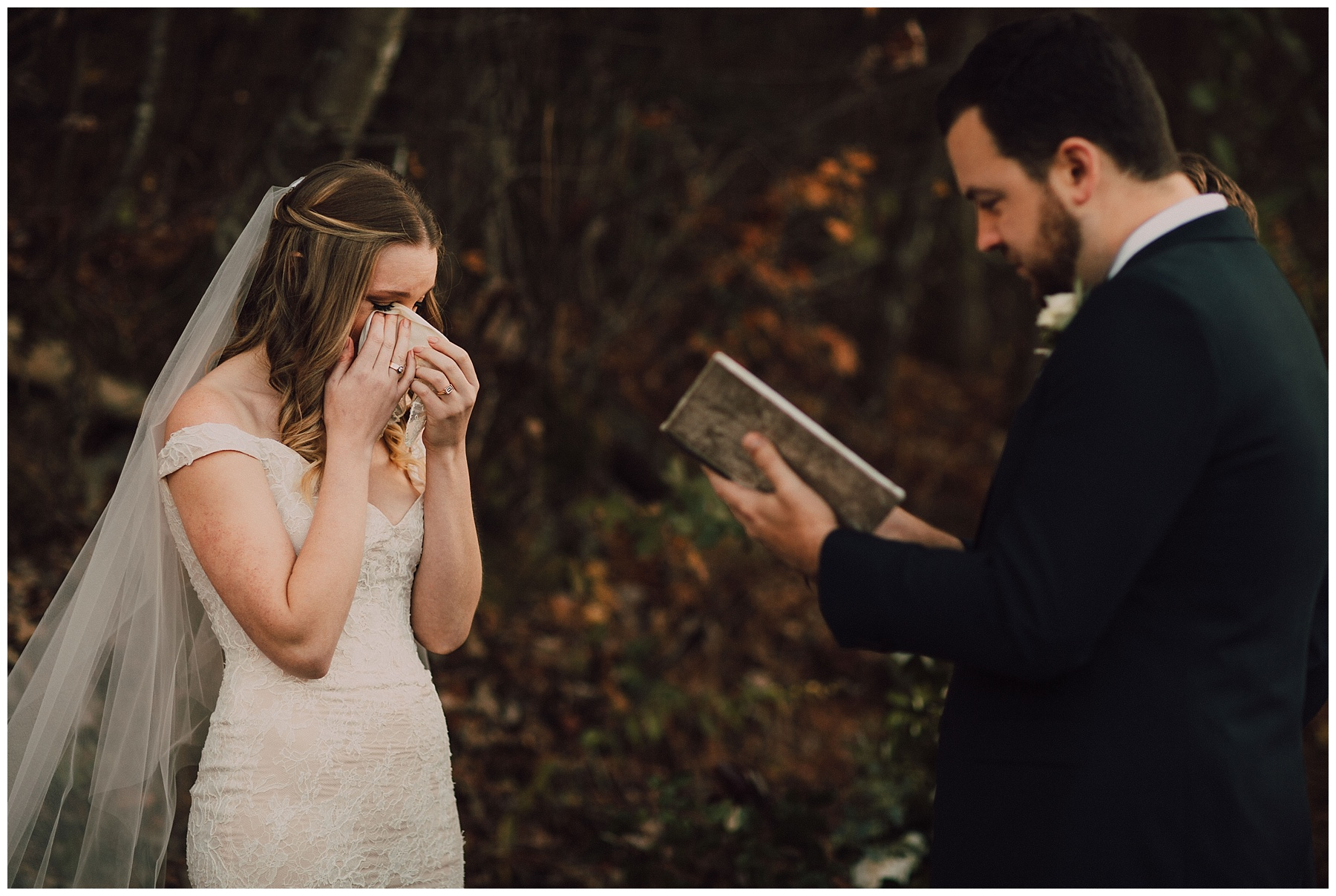 intimate vow elopement wedding